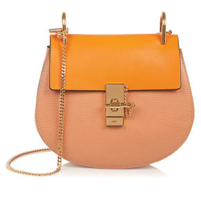 CHLOE Drew medium-textured leather shoulder bag