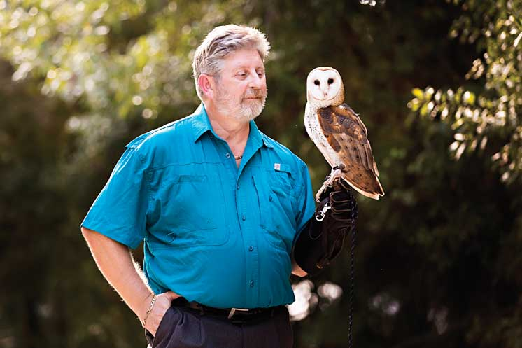 Audubon Of Martin County President John Nelson Discovered His Love For Florida's Wildlife While On A Trip To Africa