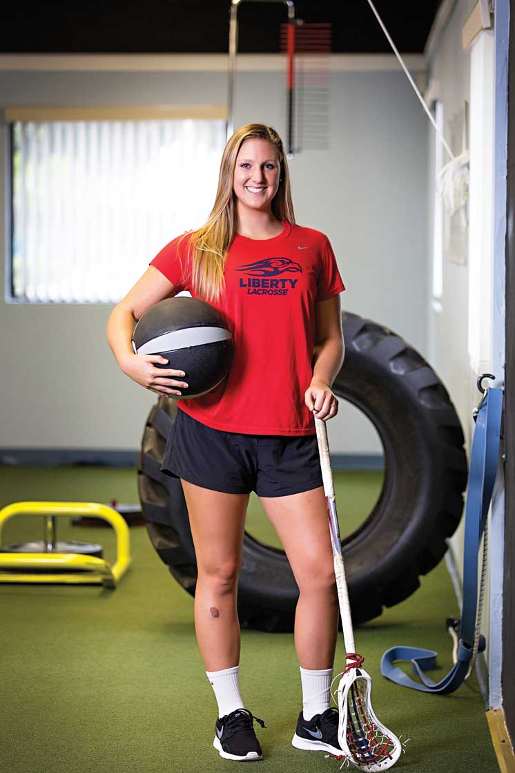Palm City's Caroline Smith Has A Passion For Lacrosse That Started Right Here At Home