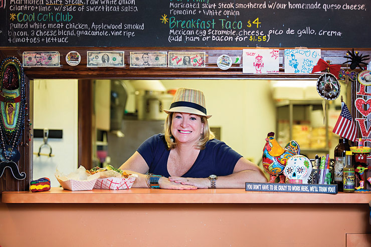 How Julie LaFrance-Lentine Made The Taco Shack A Must-Try Stuart Restaurant
