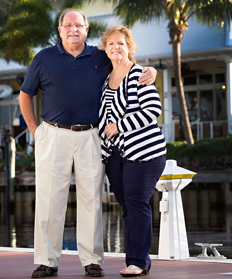 How Bob And Tracy Davis Came To Open Sailor's Return In Stuart