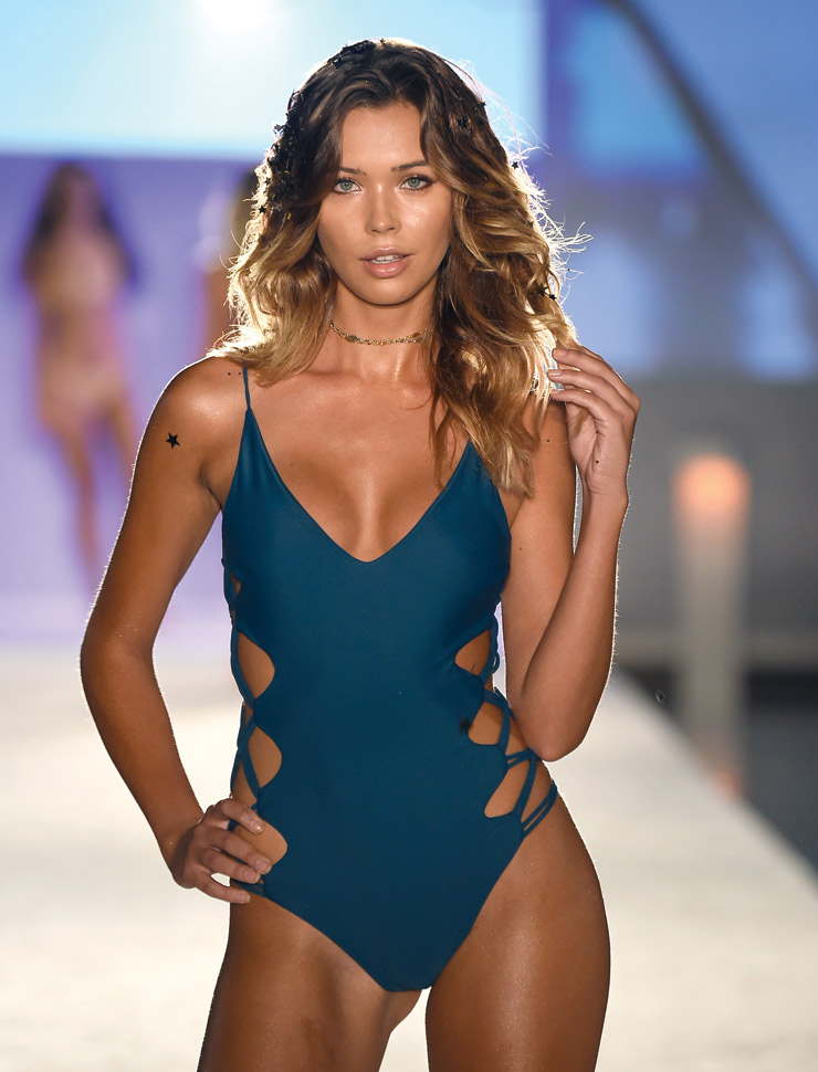 How To Accessorize One-Piece Swimsuits In Style