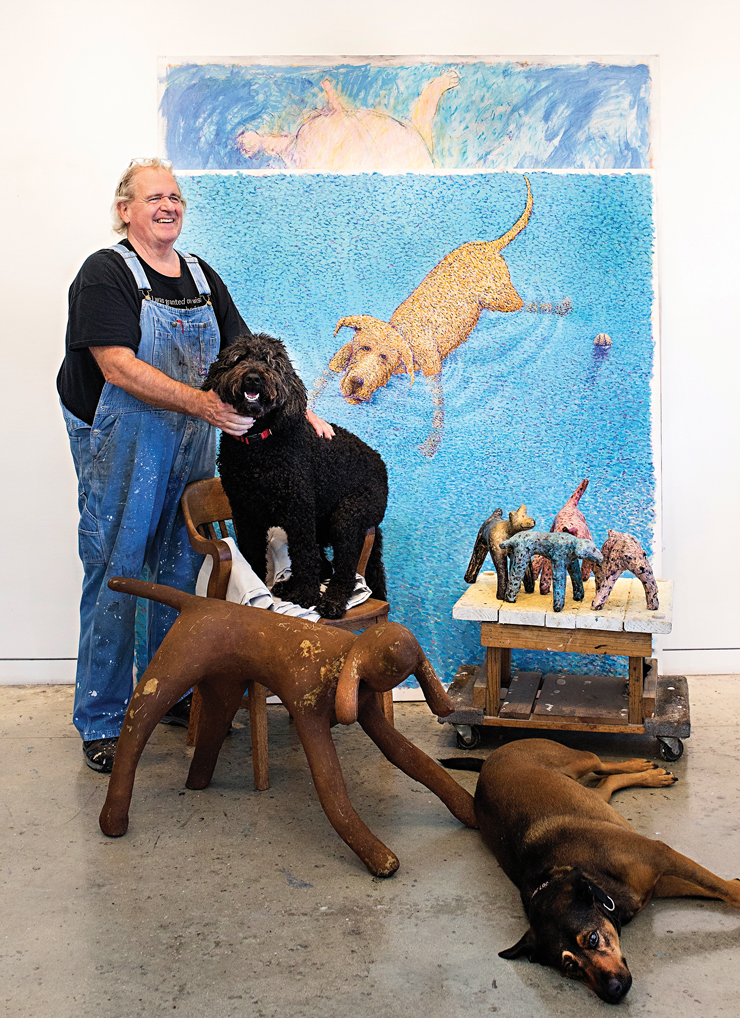 How Port St. Lucie Artist Skip Hartzell Became Dog's Best Friend