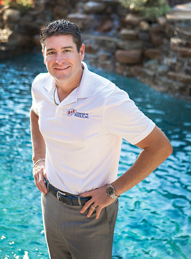 Travis Leonard Takes Large Pools and Large Donations to a New Level
