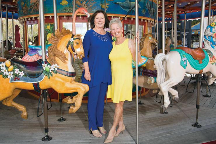 Eileen Morris and Sandra Porter Head The Local Chrysanthemum Ball
