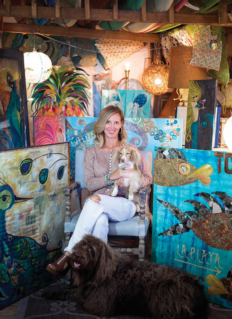 Palm City Artist Lori Lynn Wallen Discusses Her Work And How The Sea Inspires Her
