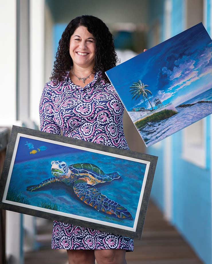 Palm City's Stacy Weller Ranieri Talks The Firefly Group, Painting And Life On The Treasure Coast