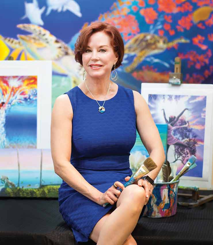 Palm City Artist Gives Voice to Sex-Trafficking Survivors Through Paintings