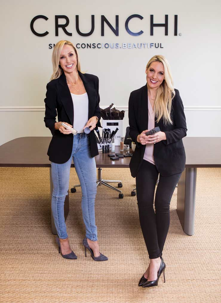 Meet The Two Stuart Women Behind Crunchi, An Organic Makeup Brand